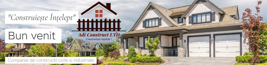 ADI CONSTRUCT Bucuresti - Constructii case si vile, amenajari Logo