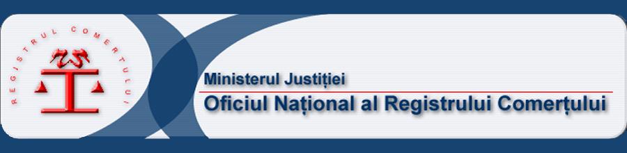OFICIUL REGISTRULUI COMERTULUI DE PE LANGA TRIBUNALUL BUCURESTI Logo