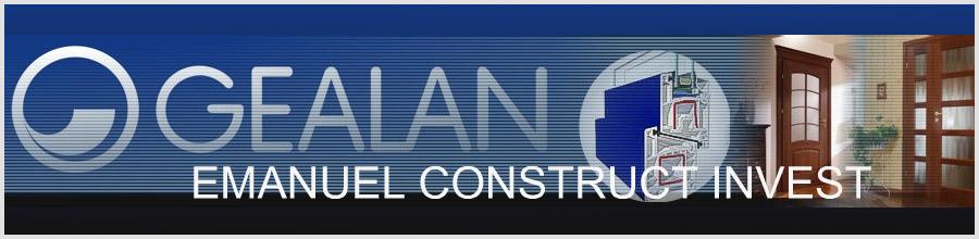 Emanuel Construct Invest - Productie si montaj tamplarie PVC Bragadiru / Ilfov Logo