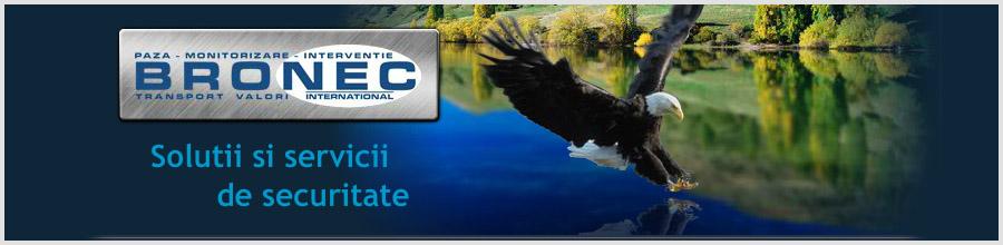 Bronec International Company - Agentie Paza si Protectie Bucuresti Logo