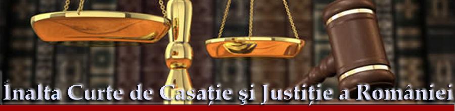 INALTA CURTE DE CASATIE SI JUSTITIE Logo