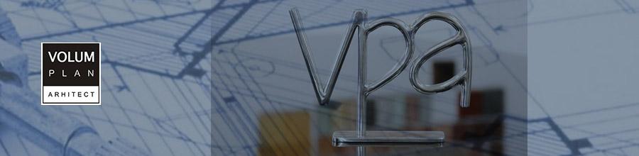 Volum Plan Arhitect, Servicii complete de Arhitectura Bucuresti, Ilfov Logo