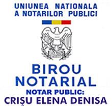 Birou Notarial CRISU ELENA DENISA Logo