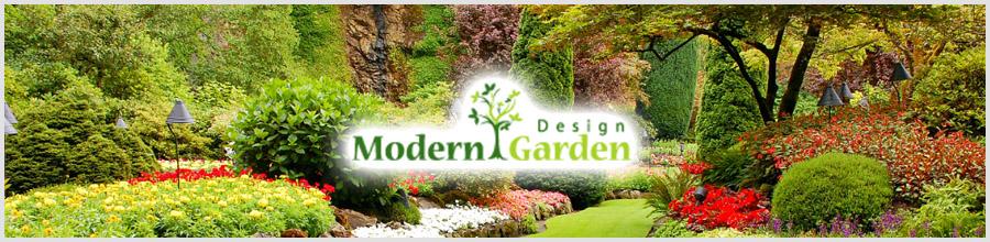 MODERN GARDEN DESIGN amenajare si intretinere gradini, spatii interioare Ilfov Logo