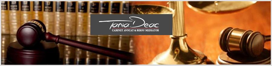 Birou Avocat Mediator - Tania Deac - Bucuresti Logo