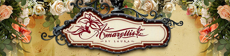 Amaryllis by Laura - Aranjamente florale, buchete evenimente Bucuresti Logo