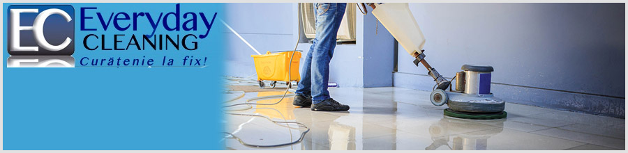 EVERYDAY CLEANING Servicii curatenie Bucuresti Logo