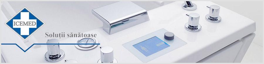 ICEMED produse pentru electroterapie Bucuresti Logo