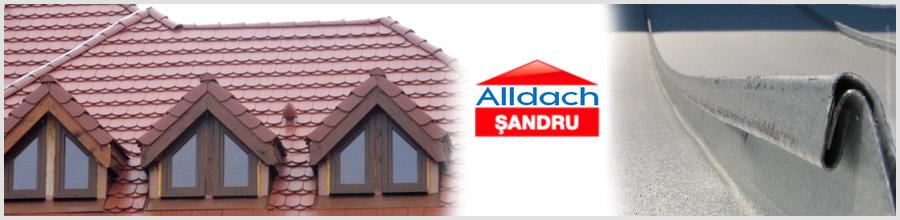 ALLDACH SANDRU - Lucrari de tinichigerie Logo