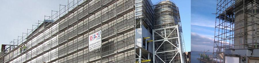 Euro Foster - Servicii de inchiriat si montaj schele constructii, Bucuresti Logo