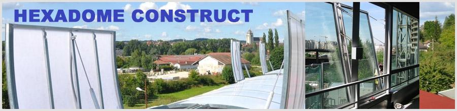 Hexadome Construct, Bucuresti - Solutii pentru evacuarea fumului Logo