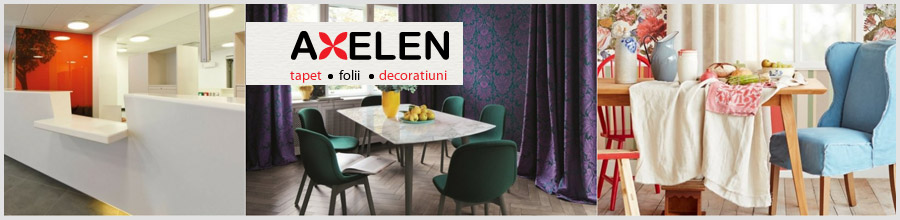 Axelen, Bucuresti - Showroom tapet, folii si decoratiuni Logo
