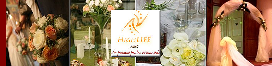 HIGH LIFE EVENTS Logo