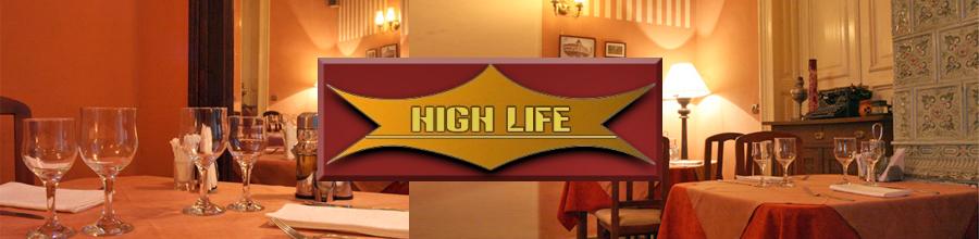 RESTAURANT HIGH LIFE EVENTS Logo