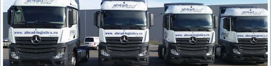AHEAD LOGISTICS transporturi rutiere Bucuresti Logo