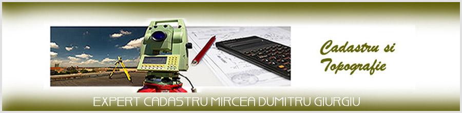 EXPERT CADASTRU MIRCEA DUMITRU GIURGIU Logo