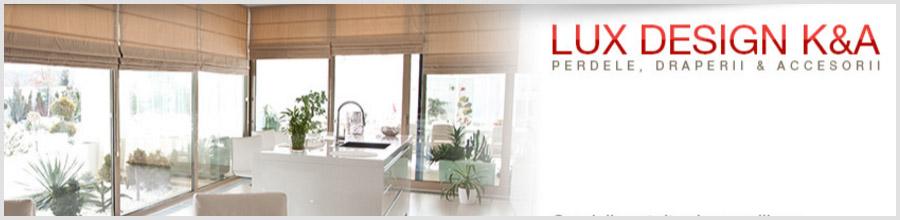 Lux Design K&A, Bucuresti - Perdele, draperii si accesorii Logo