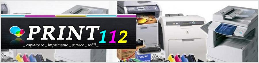 First Copier Service 2007 Bucuresti Print112.com - Service copiatoare,imprimante Logo