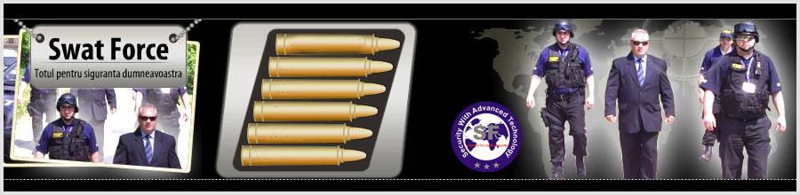 Swat Force - Agentie Paza si Protectie Bucuresti Logo