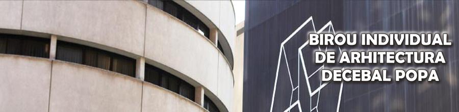 BIROU INDIVIDUAL DE ARHITECTURA DECEBAL POPA Logo