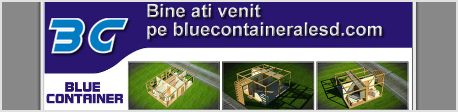 BLUE CONTAINER Logo