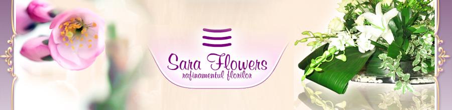 FLORARIA SARA FLOWERS Logo