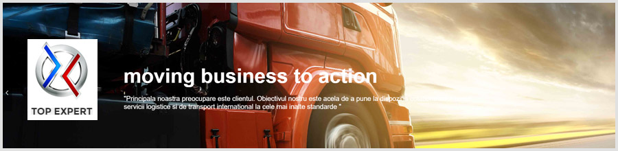 Top Expert - transport intern si international de marfuri Bucuresti Logo