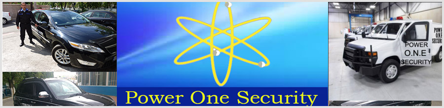 POWER ONE SECURITY Logo