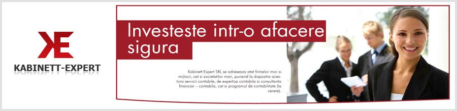 KABINETT EXPERT servicii de contabilitate complete Bucuresti Logo