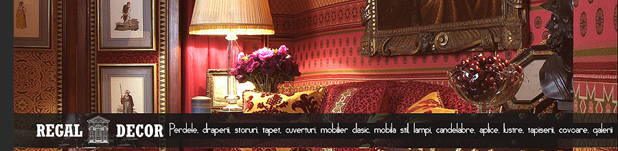 Casa Foca Regal Decor - Showroom de design amenajari interioare, Bucuresti Logo