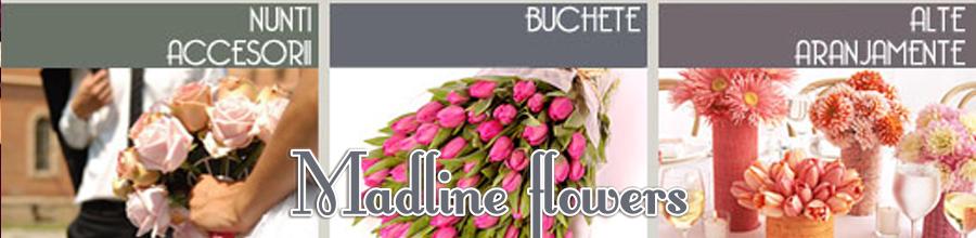 MADLINE FLOWERS Logo