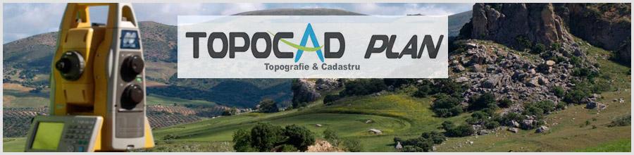 Topocad Plan - Lucrari de cadastru si intabulare Bucuresti Logo