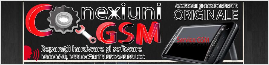 CONEXIUNI GSM Bucuresti - Reparatii,decodari telefoane mobile Logo