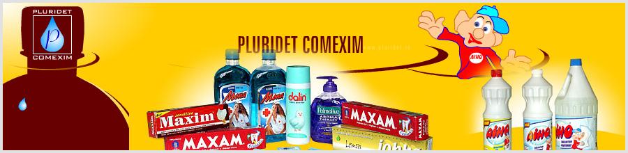 PLURIDET COMEXIM Bucuresti - produse chimice si produse cosmetice Logo