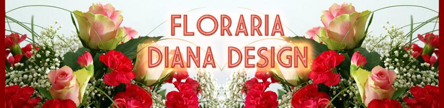 Floraria DIANA DESIGN Logo