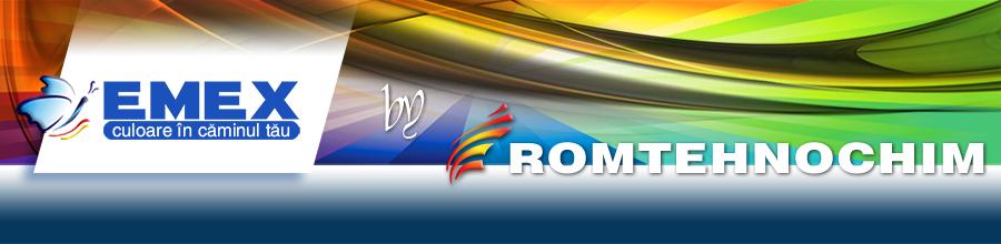 Romtehnochim, Jilava / Ilfov - Lacuri, vopsele tencuieli, pardoseli epoxidice Logo