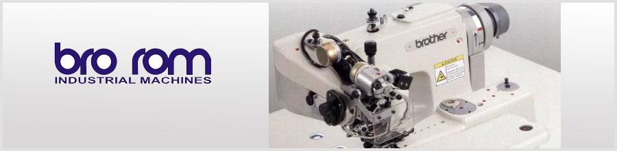 Bro Rom Industrial Machines, Bucuresti - Masini si piese de schimb Logo