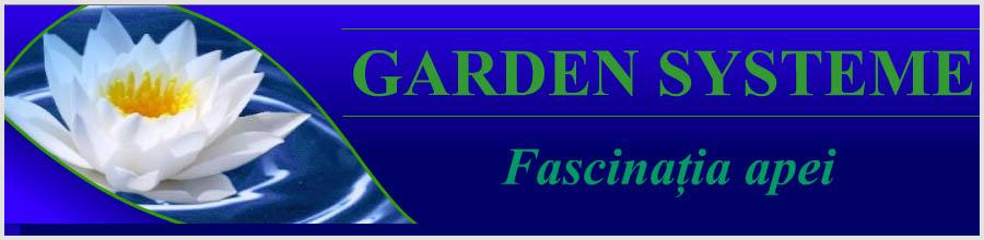 Garden Systeme, Capatanesti / Buzau - Elemente acvatice de gradina Logo