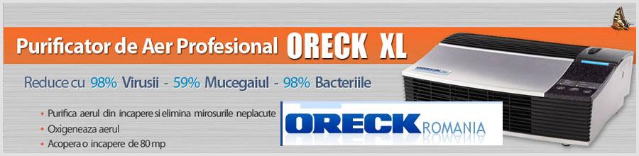ORECK ROMANIA Logo