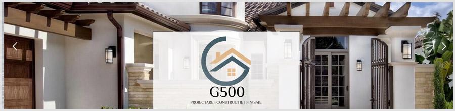 G500 Bucuresti - Proiectare, constructii, finisaje case Logo