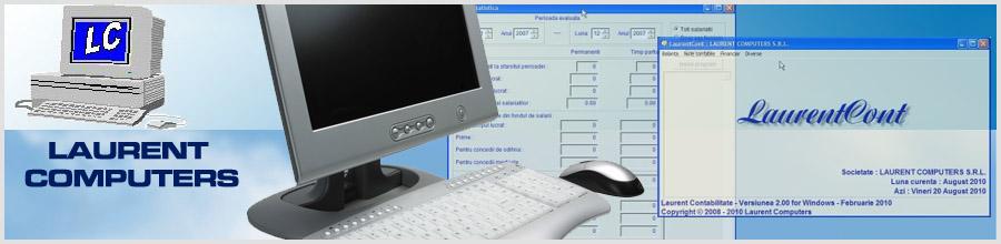 LAURENT COMPUTERS Logo