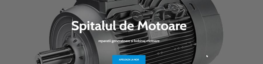 Spitalul De Motoare, Bucuresti - Rebobinari motoare electrice Logo