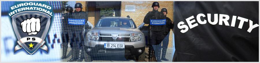 Euroguard International - servicii paza si protectie Bucuresti Logo
