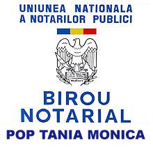 Birou Notarial POP TANIA MONICA Logo