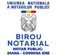 Birou Notarial ENE DIANA COSMINA Logo