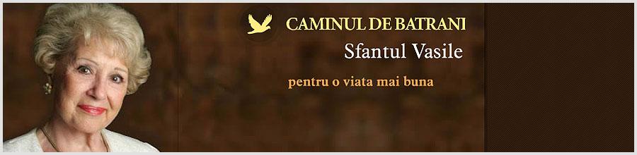 Caminul de batrani Sf. Vasile - Afumati Logo