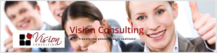 Vision Consulting - cursuri management & Leadership Bucuresti Logo