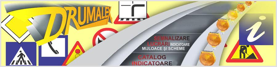 Drumalex, Brezoi / Valcea - Productor indicatoare rutiere Logo