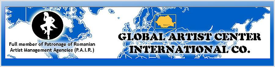 Global Artist Center International Co Logo