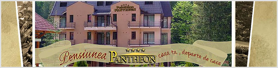 PENSIUNEA PANTHEON**** - jud. Brasov Logo
